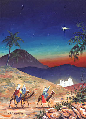 Painting - Three Wise Men by Kevin L Brooks