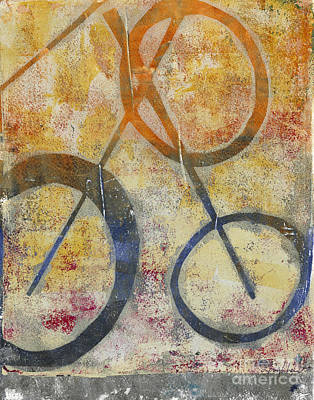 Painting - Three Worlds I by Laurel Englehardt