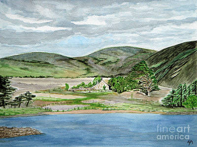 Threipmuir Farm Steading Art Print