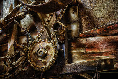 Photograph - Thresher by James Barber