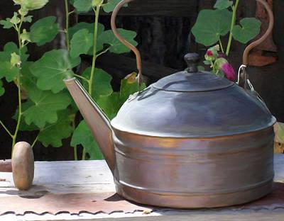 Thrift Store Teapot Original