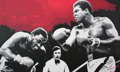 Thrilla In Manila Art Print