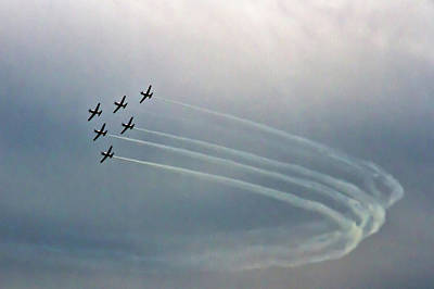 Photograph - Thrilling  Raaf Roulettes by Miroslava Jurcik