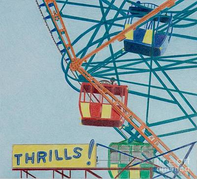 Thrills Art Print