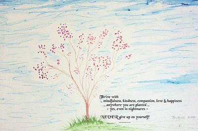 Digital Art - Thrive Anywhere Planted by Barbara Burns