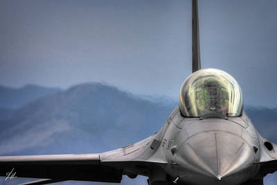 F-16 Wall Art - Photograph - Throttle Up by Brandon Griffin