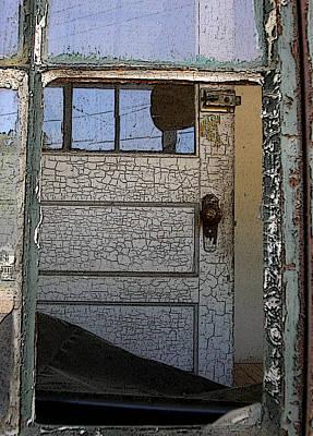 Photograph - Through A Broken Window by Anne Cameron Cutri