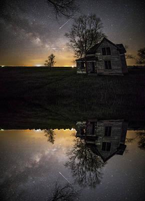 Photograph - Through A Mirror Darkly  by Aaron J Groen