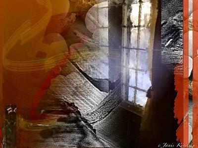 Through A Window 4 Art Print