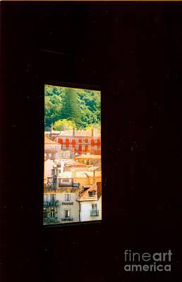 Through A Window Darkly Art Print by Andrea Simon