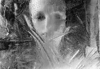 Photograph - Through A Wintry Window Gaze... Thee Or Me? by Michael Howard