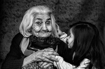 Generation Photograph - Through Generations by Oguz Ipci