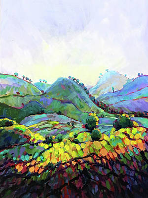 Wall Art - Painting - Through Hill And Dale by Charles Wallis
