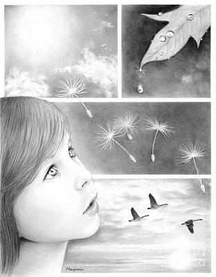 Drawing - Through Innocent Eyes by Mayumi Ogihara