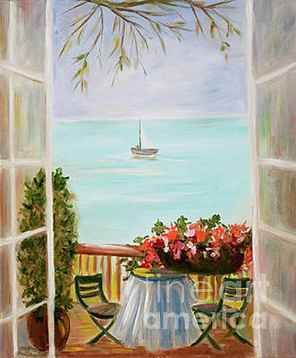 Painting - Through Open Doors by Pati Pelz
