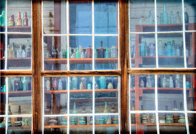 Photograph - Through The Apothecary Window by Lynn Bauer