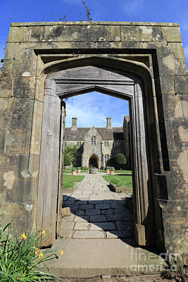 Photograph - Through The Arch At Nymans by Julia Gavin