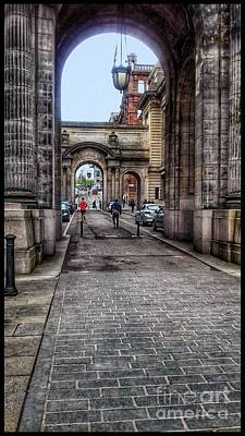 Photograph - Through The Arches At George Street by Joan-Violet Stretch