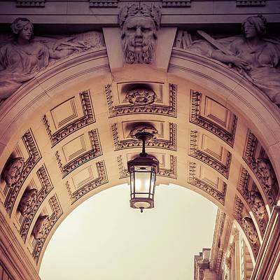 London Photograph - Through The Arches  by Debra Cox