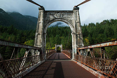 Photograph - Through The Arches by Rod Wiens