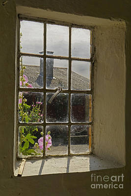 Photograph - Through The Barn Window by Inge Riis McDonald