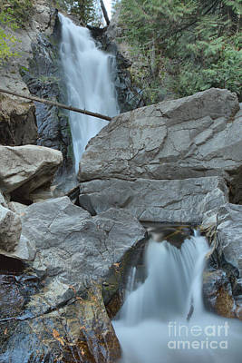 Photograph - Through The Boulders At Falls Creek Falls by Adam Jewell