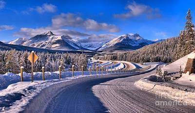 Photograph - Through The Canadian Rocky Mountains by Adam Jewell