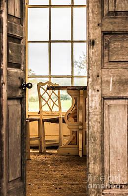 Photograph - Through The Door by David Warrington