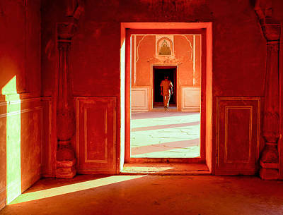 Photograph - Through The Doorway by M G Whittingham