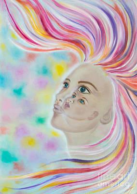Through The Eyes Of Our Inner Child Original by Elisabeth Landgraf
