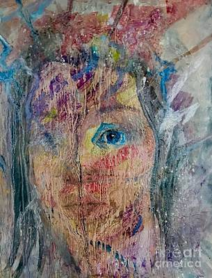 Painting - Through The Looking Glass by Anne Buffington