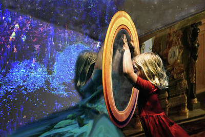 Digital Art - Through The Looking Glass by Lisa Yount