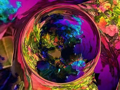 Digital Art - Through The Looking Glass by Nancy Pauling