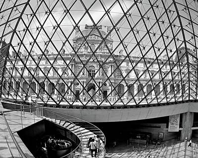 Photograph - Through The Louvre by Matt MacMillan