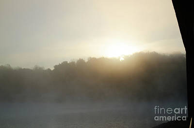 Photograph - Through The Mist by Donna Brown