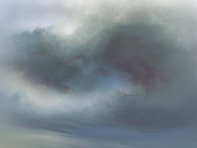 Abstract Landscape Royalty-Free and Rights-Managed Images - Through the Mist by Lonnie Christopher
