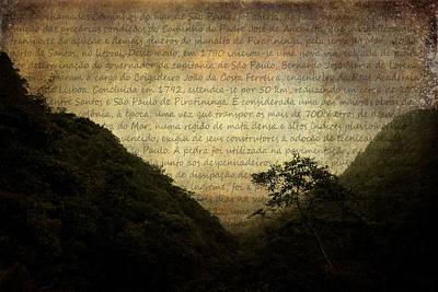 Through The Mountains Art Print by Valmir Ribeiro