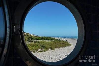 Photograph - Through The Porthole by Jennifer White