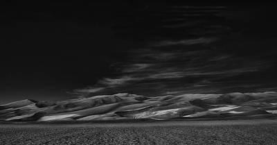 Dunes Photograph - Through The Silence Something Throbs ... by Yvette Depaepe