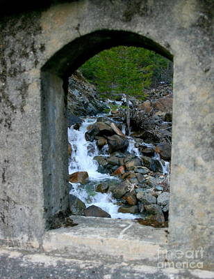 Photograph - Through The Stone Door by Marie Neder