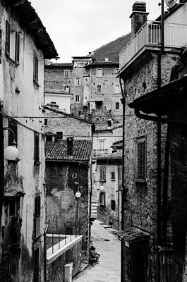 Photograph - Through The Streets Of Scanno - Italy  by Andrea Mazzocchetti