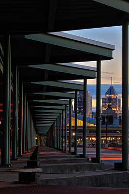 Photograph - Through The Strip   by Emmanuel Panagiotakis