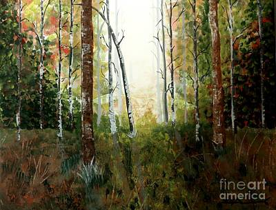 Painting - Through The Trees II by Tim Townsend