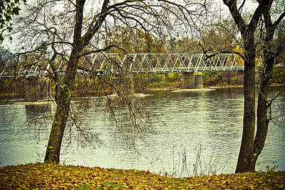 Photograph - Through The Trees - Washington Crossing Bridge by Colleen Kammerer