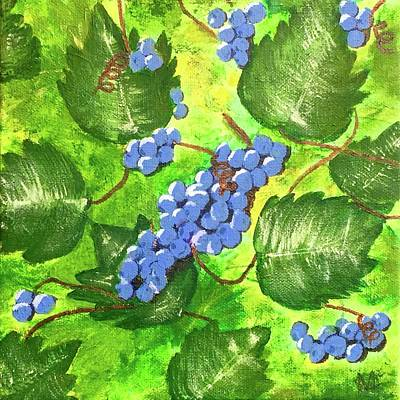 Painting - Through The Vines by Cynthia Morgan