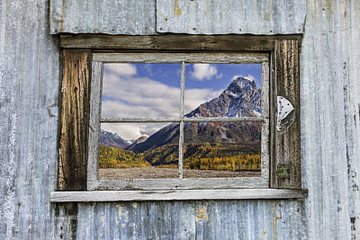 Photograph - Through The Window Of The Past by Fred Denner