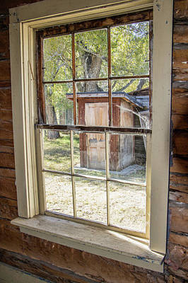 Photograph - Through The Windows Of Bannack 6 by Teresa Wilson
