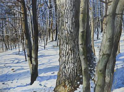 Painting - Through The Woods by William Brody
