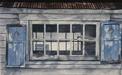 Painting - Through Three Windows by Jean Sumption