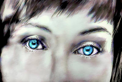 Digital Art - Thru Her Eyes by Pennie  McCracken